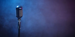 Back ground microphone