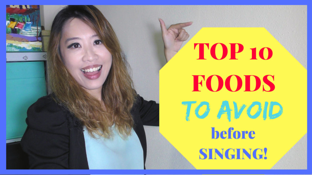 Top 10 Foods To Avoid Before Singing