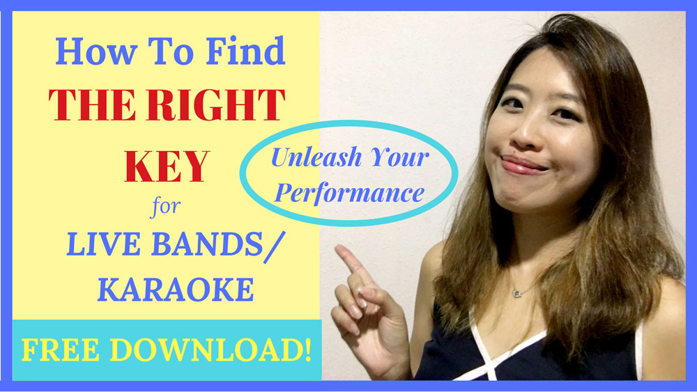 How To Find The Key Of A Song Right Key Karaoke Live Band